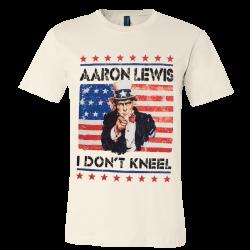 Aaron Lewis Natural I Don't Kneel Tee