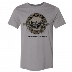 Aaron Lewis Storm Grey Train Wreck Tee