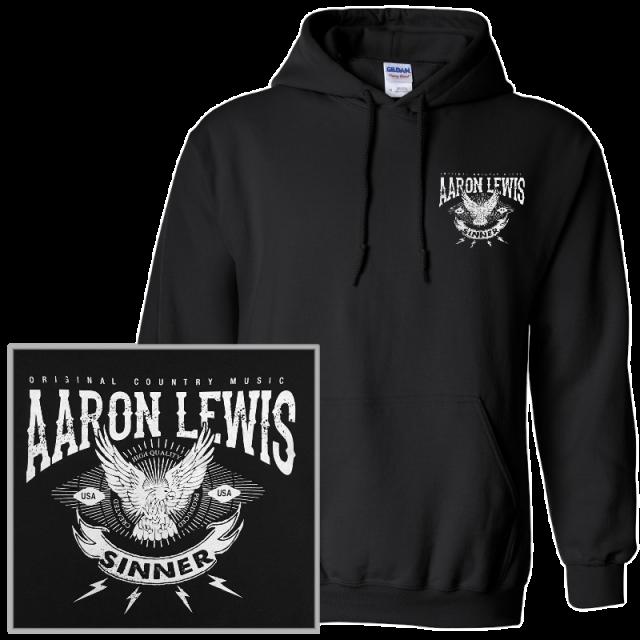 Aaron Lewis Black Hoodie