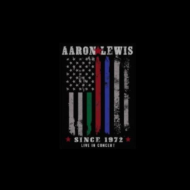 Aaron Lewis First Responders Sticker