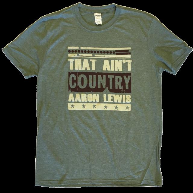 Aaron Lewis Heather Green Tee