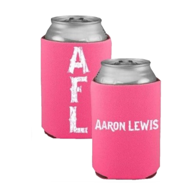 Aaron Lewis AFL Hot Pink Can Coolie