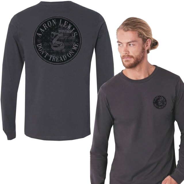 Aaron Lewis Long Sleeve Heavy Metal Don't Tread On Me Tee