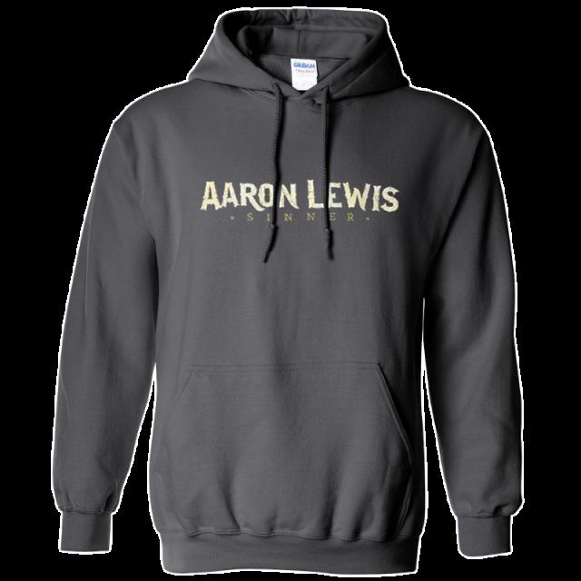 Aaron Lewis Charcoal Hoodie