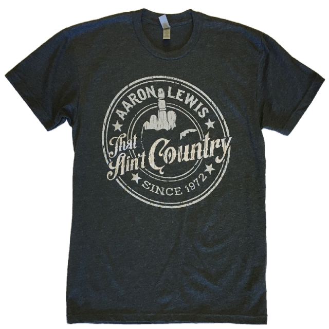 Aaron Lewis Heather Grey That Ain't Country Tee