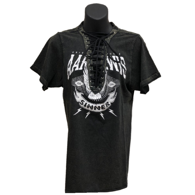 Aaron Lewis Ladies Lace Up Shirt