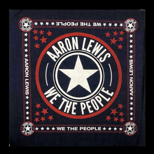 Aaron Lewis Navy We the People Bandana