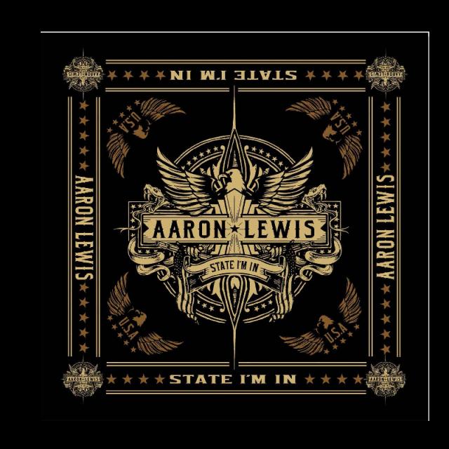 Aaron Lewis State I'm In Bandana